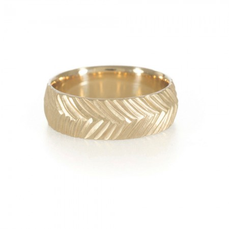 Woven Handmade Wedding Band
